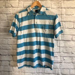 3/$30🦋 Paul Frank Blue Gray Short Sleeve Polo